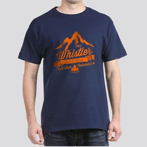 Whistler Mountain Vintage Dark T-Shirt